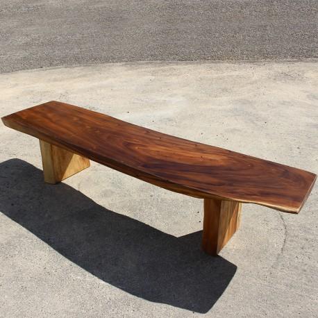 Banc en bois de Suar 220 cm (BSUAR220-023)