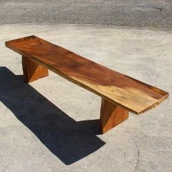 Banc en bois de Suar 220 cm (BSUAR220-024)