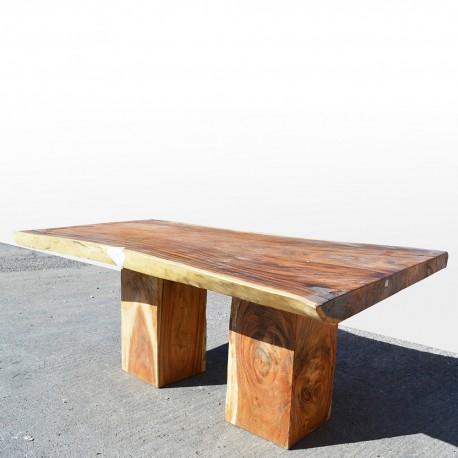 Table en bois de Suar 200cm (SUAR04-200)