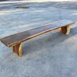 Banc en bois de Suar 280 cm (BSUAR280-023)