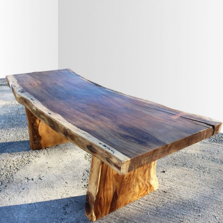 Table en bois de Suar 220cm (SUAR19-220)
