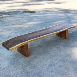 Banc en bois de Suar 280 cm (BSUAR280-027)