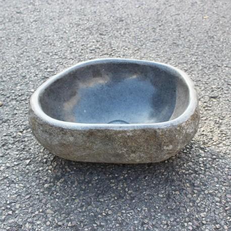 Vasque à poser en galet de rivière 36-30 cm (GAL35-001-SLIM)