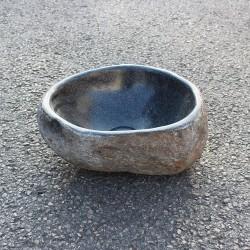 Vasque à poser en galet de rivière 30-27 cm (GAL35-002-SLIM)