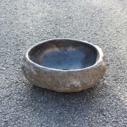 Vasque à poser en galet de rivière 34-29 cm (GAL35-003-SLIM)