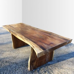 Table en bois de Suar 220cm (SUAR21-220)