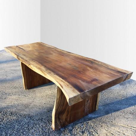 Table en bois de Suar 220cm (SUAR21-220)