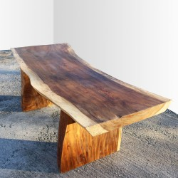 Table en bois de Suar 220cm (SUAR22-220)