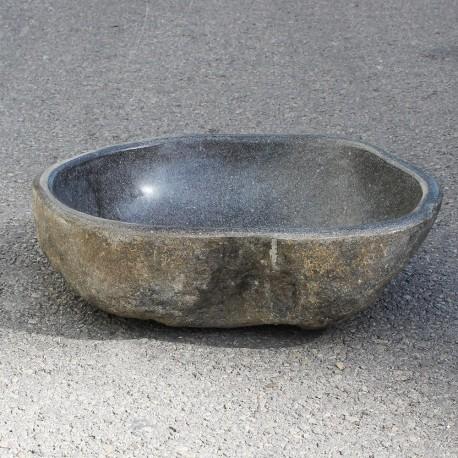 Vasque à poser en galet de rivière 45-35 cm (GAL45-006-SLIM)