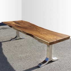 Table en bois de Suar 300cm (SUAR34-300)