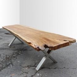 Table en bois de Suar 300cm (SUAR40-300)