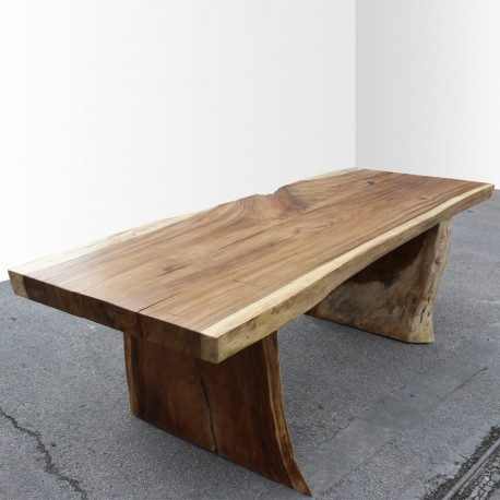 Table en bois de Suar 220cm (SUAR26-220)