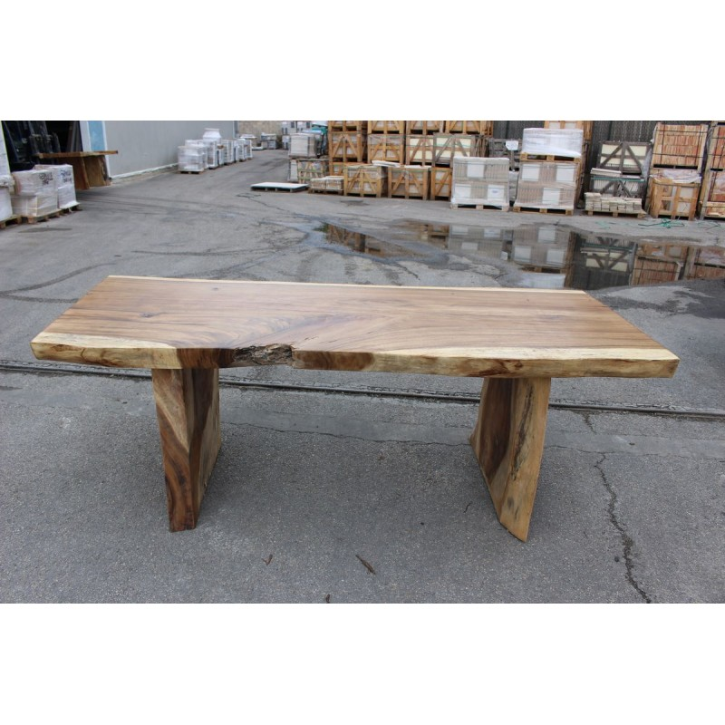 table en bois de suar 220cm suar26 220