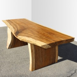 Table en bois de Suar 220cm (SUAR28-220)