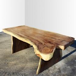 Table en bois de Suar 220cm (SUAR23-220)