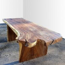 Table en bois de Suar 220cm (SUAR24-220)