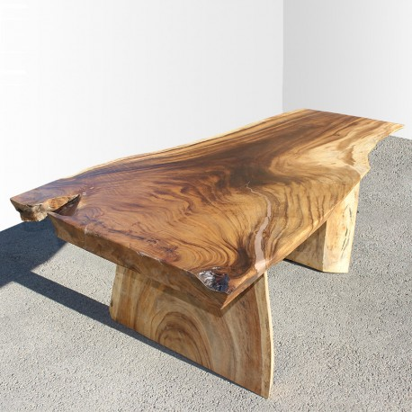 Table en bois de Suar 200cm (SUAR17-200)