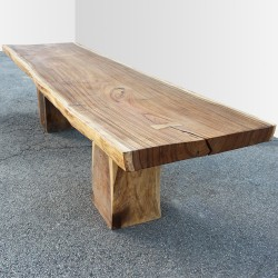 Table en bois de Suar 300cm (SUAR13-300)