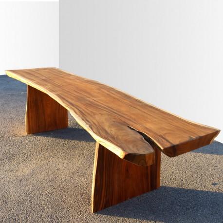 Table en bois de Suar 300cm (SUAR41-300)