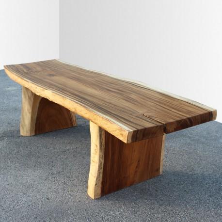 Table en bois de Suar 250cm (SUAR15-250)