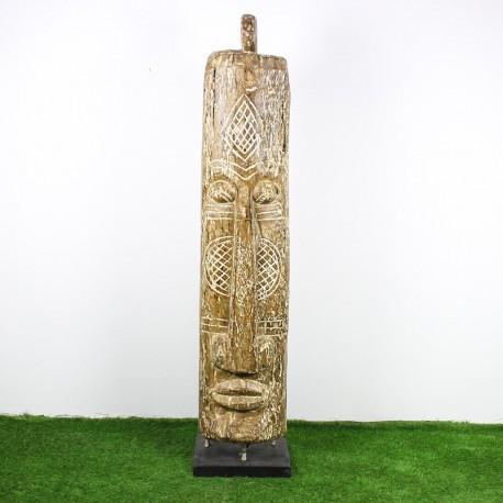 Totem papou H205 bois de palmier (TOT010)