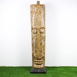 Totem papou H205 bois de palmier (TOT011)
