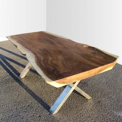 Table en bois de Suar 200cm (SUAR15-200)