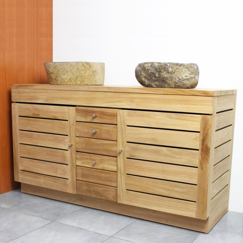 Meuble sous vasque 140 cm elegant meuble salle de bain cm for Meuble salle de bain 140 cm double vasque ikea