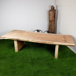 Table en bois de Suar 307 cm (SUAR46-300)