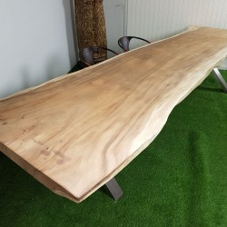 Table en bois de Suar 351cm (SUAR01-350)