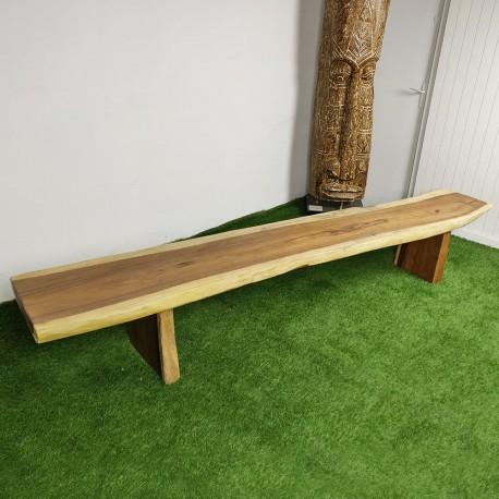 Banc en bois de Suar 278 cm (BSUAR280-029)