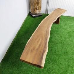 Banc en bois de Suar 286 cm (BSUAR280-030)
