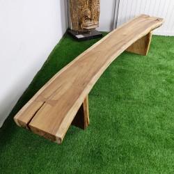 Banc en bois de Suar 280 cm (BSUAR280-033)