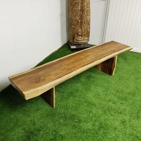 Banc en bois de Suar 200 cm (BSUAR200-031)