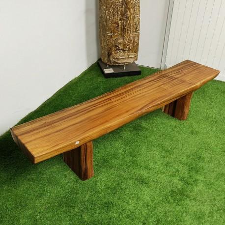 Banc en bois de Suar 199 cm (BSUAR200-032)