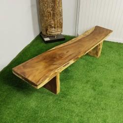 Banc en bois de Suar 205 cm (BSUAR200-034)