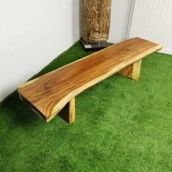 Banc en bois de Suar 200 cm (BSUAR200-035)