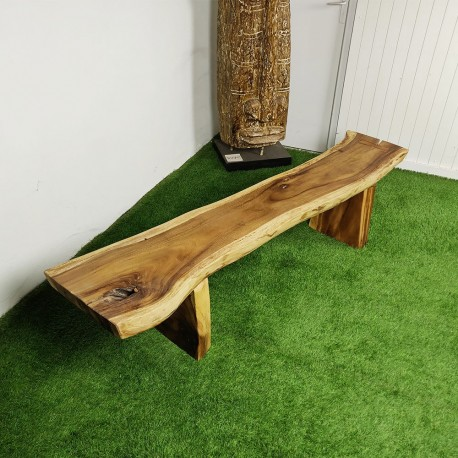 Banc en bois de Suar 200 cm (BSUAR200-038)