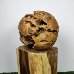 Boule en racine de Teck Ø50cm (BALL-TECK-L15)