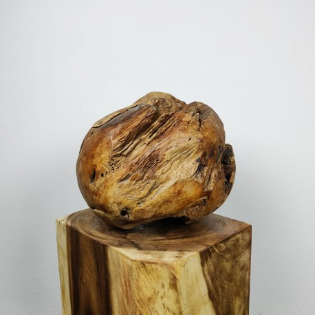 Boule en racine de Teck Ø40cm (BALL-TECK-M16)