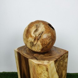 Boule en racine de Teck Ø30cm (BALL-TECK-S16)