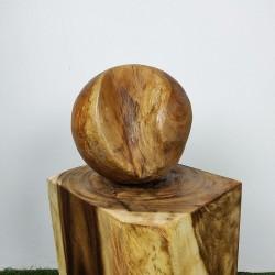Boule en racine de Teck Ø30cm (BALL-TECK-S17)