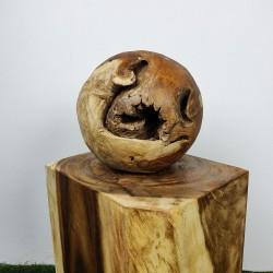 Boule en racine de Teck Ø30cm (BALL-TECK-S18)