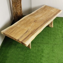 Table en bois de Suar 250cm (SUAR70-250)