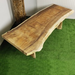 Table en bois de Suar 254cm (SUAR71-250)