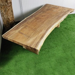 Table en bois de Suar 255cm (SUAR72-250)