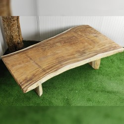 Table en bois de Suar 261cm (SUAR73-250)