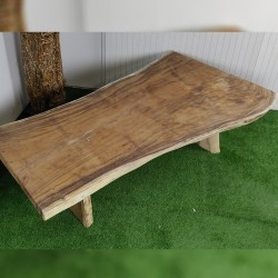 Table en bois de Suar 263cm (SUAR74-250)