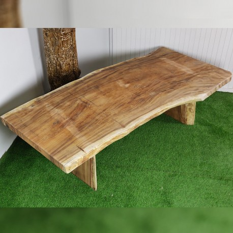 Table en bois de Suar 257cm (SUAR75-250)