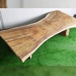 Table en bois de Suar 308cm (SUAR50-300)
